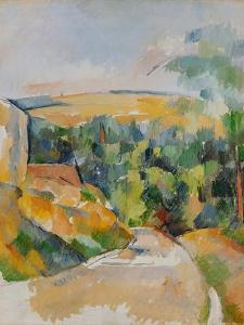 Bend of the Road, 1900/06 by Paul Cézanne