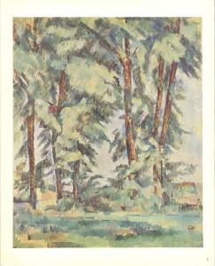 Big Trees at Le Jas De Bouffan by Paul Cezanne