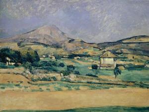 Blick Zum Mount Saint-Victoire, 1882/85 by Paul Cézanne