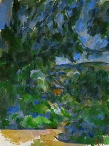 Blue Landscape, 1904-1906 by Paul Cézanne