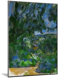 Blue Landscape, 1904-1906 by Paul Cézanne