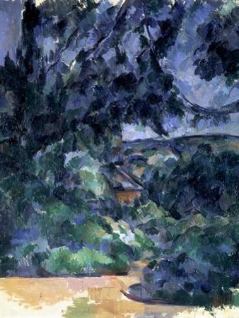 Blue Landscape, C1903 by Paul Cézanne