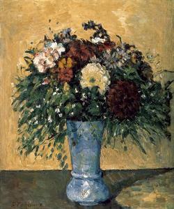 Bouquet of Flowers in a Vase by Paul Cézanne