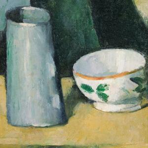 Bowl and Milk-Jug by Paul Cézanne
