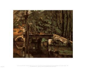 Bridge of Maincy Melun by Paul Cézanne