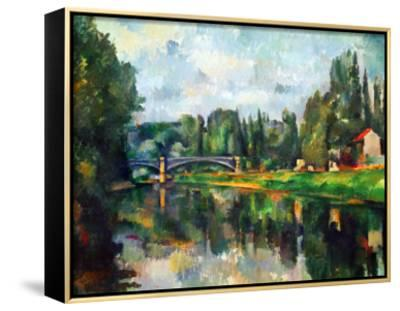 Bridge Over Ther Marne at Creteil, 1888 by Paul Cézanne