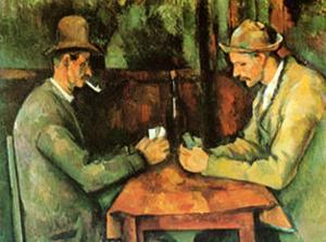Card Players, c.1890 by Paul Cézanne