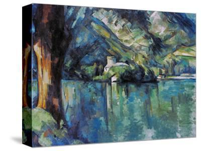 Cezanne: Annecy Lake, 1896