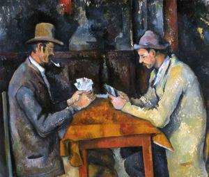 Cezanne: Card Player, C1892 by Paul Cézanne