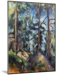 Cezanne: Pines, 1896-99 by Paul Cézanne