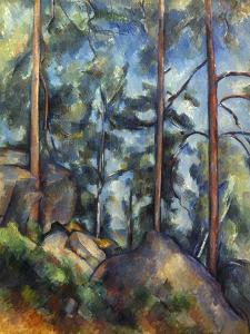 Cezanne: Pines, 1896-99 by Paul Cézanne