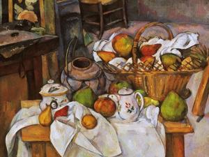 Cezanne: Table, 1888-90 by Paul Cézanne