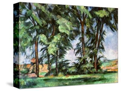 Cezanne: Trees, C1885-87