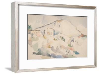 Château Noir and Mont Sainte-Victoire, Ca 1890-1895