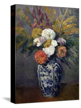 Dahlias, circa 1873 by Paul Cézanne
