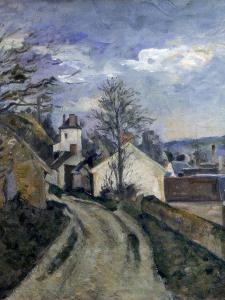 Doctor Gachet's House at Auvers, C1873 by Paul Cézanne