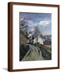 Doctor Gachet's House at Auvers, C1873 by Paul Cézanne