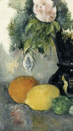 Fleurs et fruits by Paul Cézanne