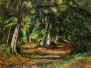 Forest Path, circa 1892 by Paul Cézanne