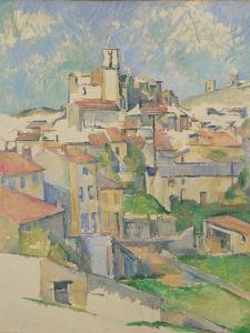 Gardanne, 1885-86 by Paul Cezanne