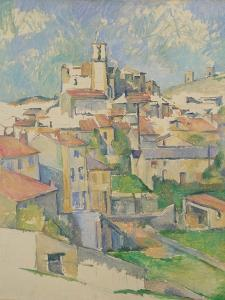 Gardanne, 1885-86 by Paul Cezanne