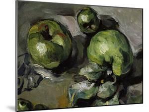 Green Apples, c.1873 by Paul Cézanne