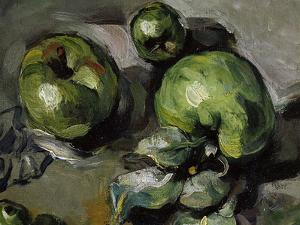 Green Apples, c.1873 by Paul Cézanne