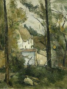 House in the Trees, Auvers by Paul Cézanne