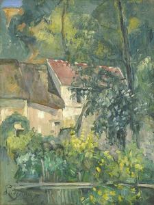 House of Père Lacroix, 1873 by Paul Cezanne