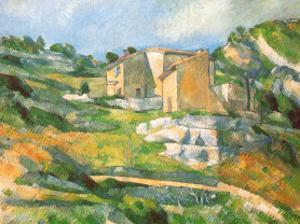Houses At the Estaque by Paul Cézanne