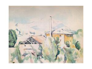 'Houses in a Landscape', 1923 by Paul Cezanne