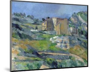 Houses in Provence: the Riaux Valley Near L'Estaque by Paul Cézanne