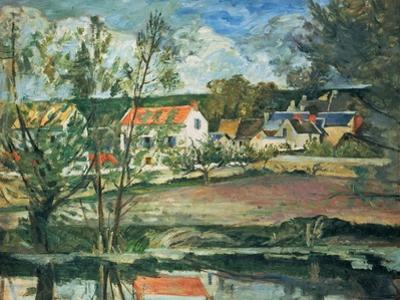 In the Valley of the Oise River , 1873/1875 by Paul Cézanne