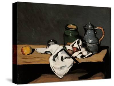 Jar, Coffee Pot and Fruit