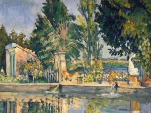 Jas De Bouffan, the Pool, C.1876 by Paul Cézanne