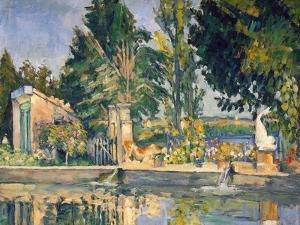 Jas De Bouffan, the Pool, C1876 by Paul Cézanne