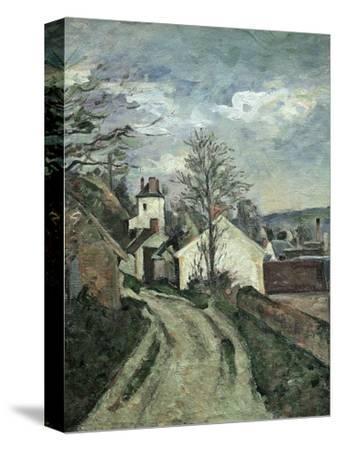 La Maison Du Docteur Gachet À Auvers (Doctor Gachet's House, Auvers, France), C. 1873 by Paul Cézanne