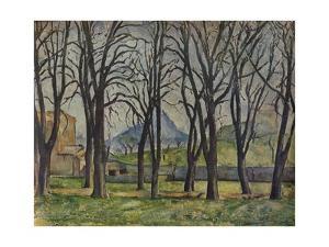 'La Montagne Sainte-Victoire', 1935 by Paul Cezanne