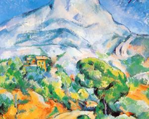 La Montagne St. Victoire by Paul Cézanne