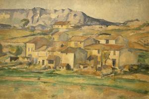 La Sainte-Victoire by Paul Cézanne