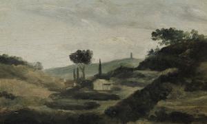 La Tour de César by Paul Cézanne