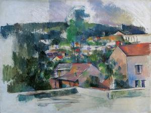 Landscape, C1889 by Paul Cezanne