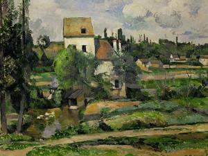 Landscape in Auvers by Paul Cézanne