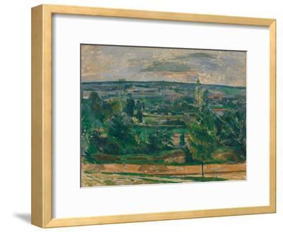 Landscape in Jas De Bouffan