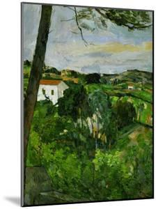 Landscape with Red Rooftops, Also Called Pine-Tree at L'Estaque, 1876 by Paul Cézanne