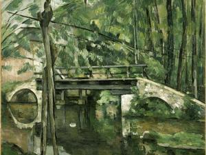 Le Pont de Maincy, près de Melun by Paul Cézanne
