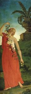 Le printemps by Paul Cézanne