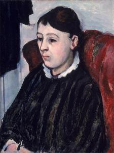 Madame Cezanne, c.1883-85 by Paul Cézanne
