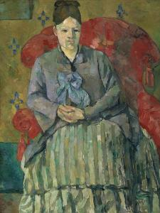 Madame Cézanne in a Red Armchair by Paul Cézanne by Paul Cezanne