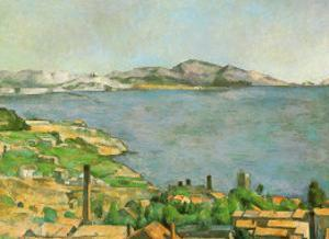 Marseilles Bay by Paul Cézanne